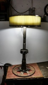 transfercase shaft lamp with 4in air filter
