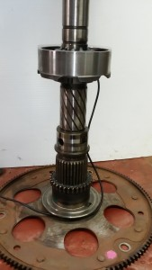 Transfercase shaft lamp