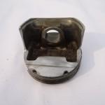 Half piston business card holder